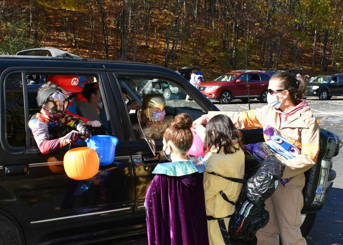 In Pictures- The 2020 Trunk or Treat was held in social distancing, drive thru fashion in Winsted on Halloween, October 31, 2020.