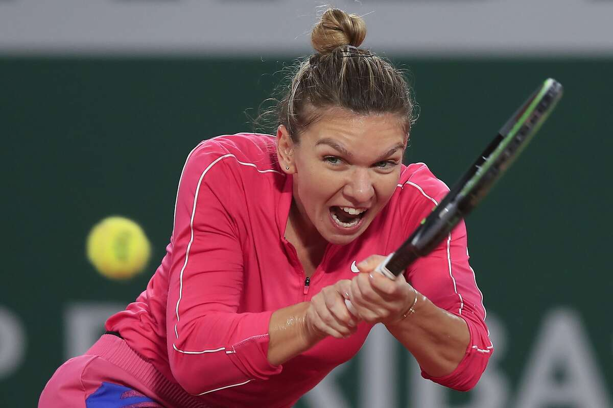 Tennis star Simona Halep announced Saturday that she has tested positive for the coronavirus.
