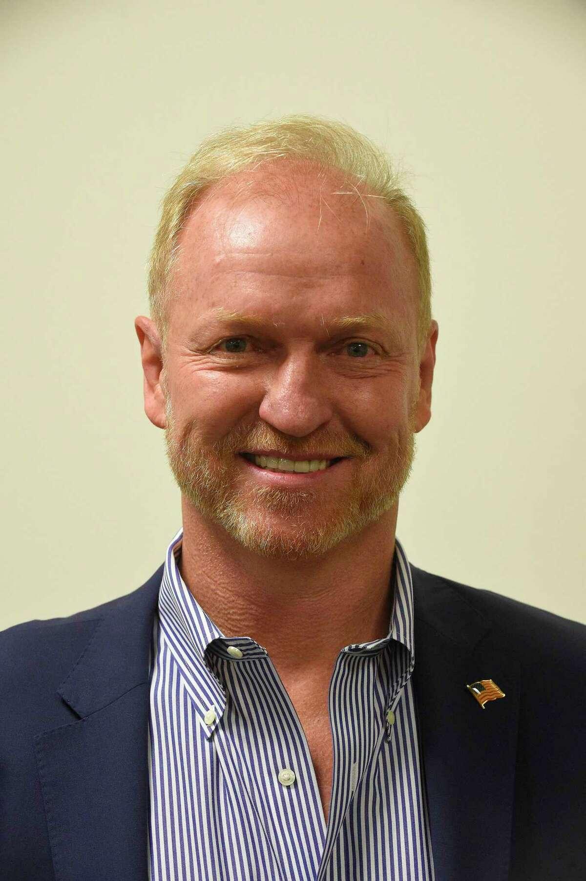 Joe Kelly, a member of the Greenwich Board of Education Nov. 21, 2019.