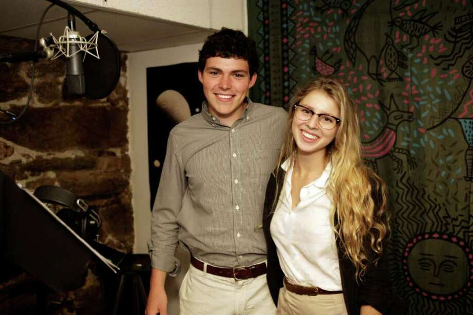 "Greenwich residents Charlie Greene, producer, and Eliza McNitt,  director, have just completed their short film, ""The Magic Motorway"" for the Merritt Parkway Conservancy. Photo: Contributed Photo / Greenwich Citizen"