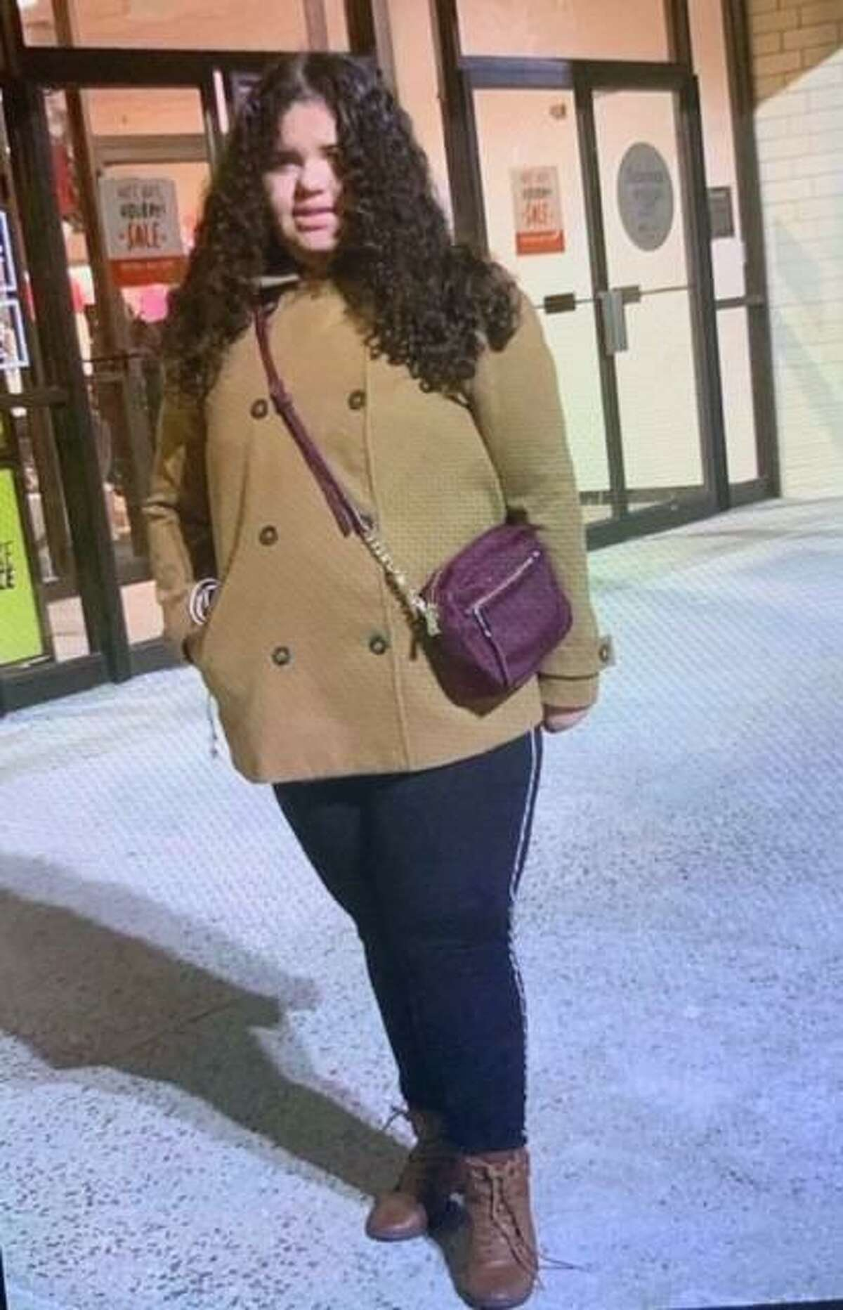 Bridgeport Police Sunday released a more recent photo of 12-year-old Evelyn Santos-Oliveira, missing since Saturday and the subject of a silver alert.