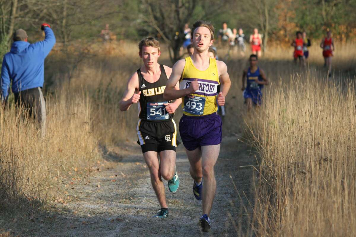 The Frankfort Panthers compete at cross country regionals on Oct. 31 at Buckley.