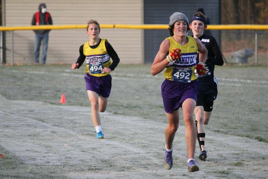 The Frankfort Panthers compete at cross country regionals on Oct. 31 at Buckley. Photo: Robert Myers