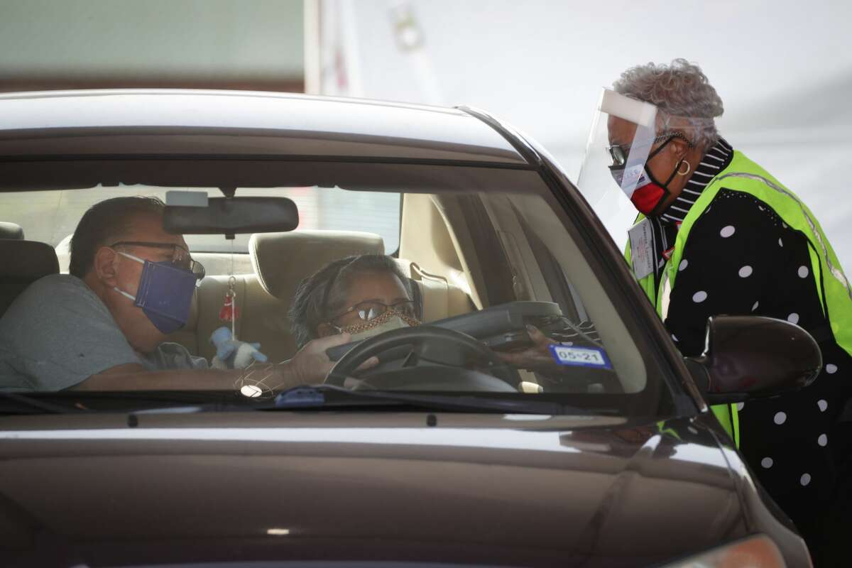 Drive-thru voting, which was offered last year in Harris County due to the COVID-19 pandemic, will be outlawed once Senate Bill 1 is signed by Gov. Greg Abbott.
