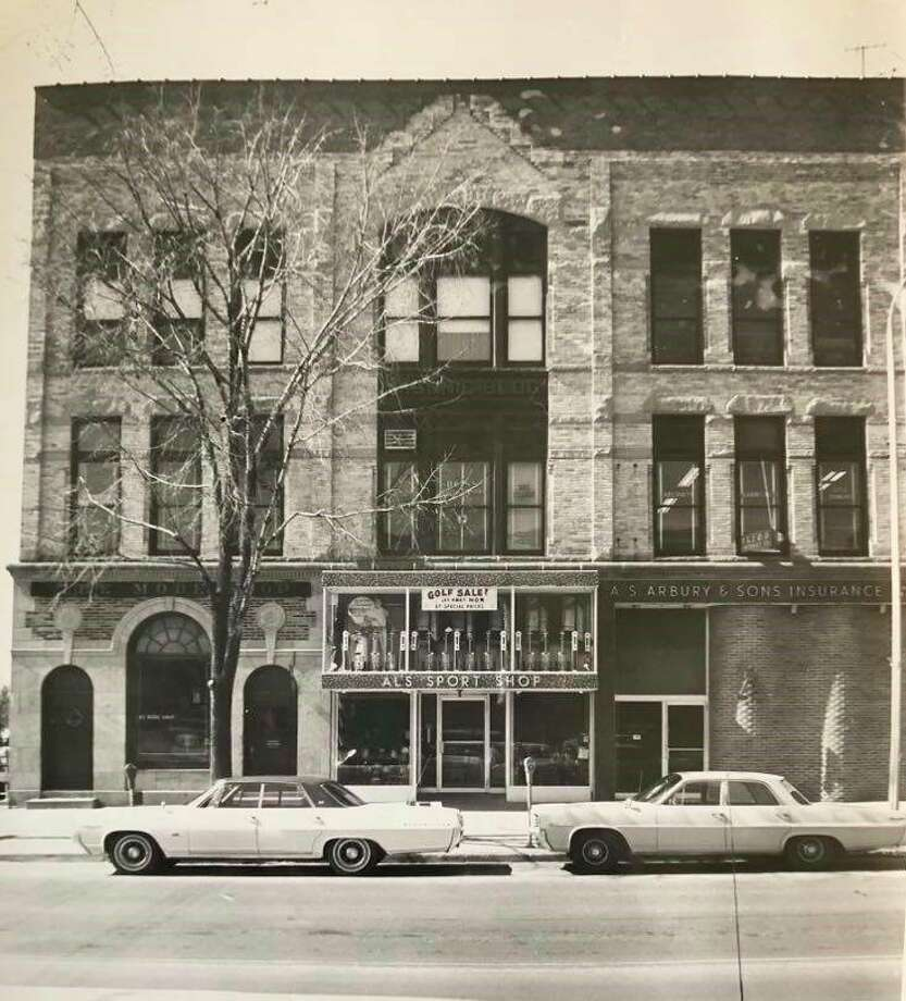 This undated photo shows the Larkin Block building in downtown Midland. Centre Lodge 273 has been meeting in the Larkin Block building since 1918. (Daily News file photo)
