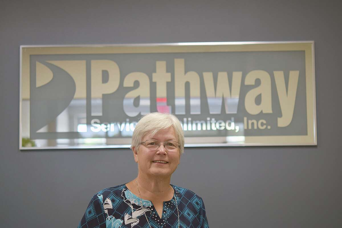 Deb Boston has been at Pathway Services for 46 years.