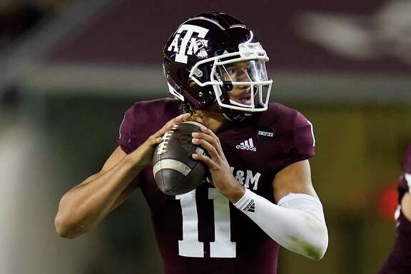 Texas A&M quarterback Kellen Mond's self-confidence has had a ripple effect on the entire team, which only has one more ranked opponent on its schedule.