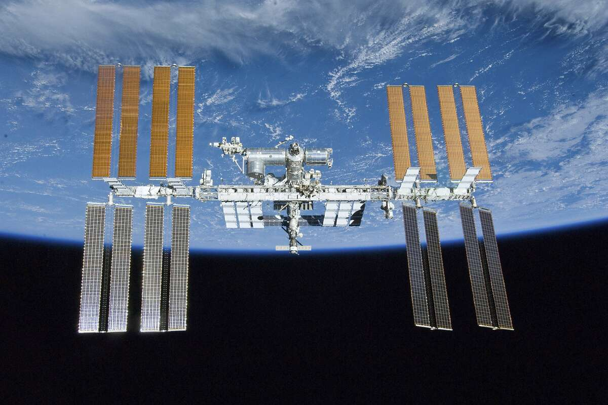 The International Space Station can be seen over Houston between 6:23 and 6:29 p.m. on Wednesday night.