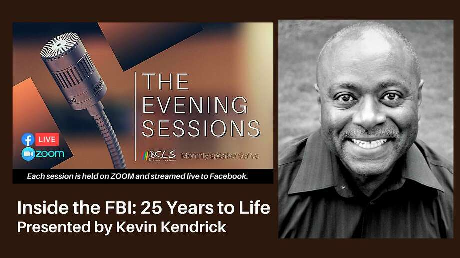 Wednesday, Nov. 4: Kevin Kendrick - Inside the FBI: 25 Years to Life, a virtual event, is set for 7 to 8 p.m. via Zoom. (Photo provided/Bay County Library System Facebook)