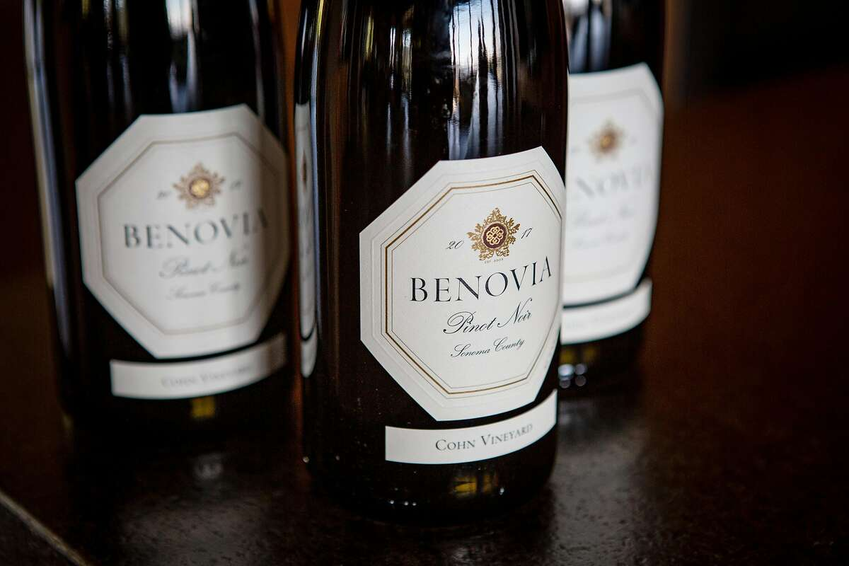 A selection of Benovia's Pinot Noirs from its Cohn Vineyard estate.