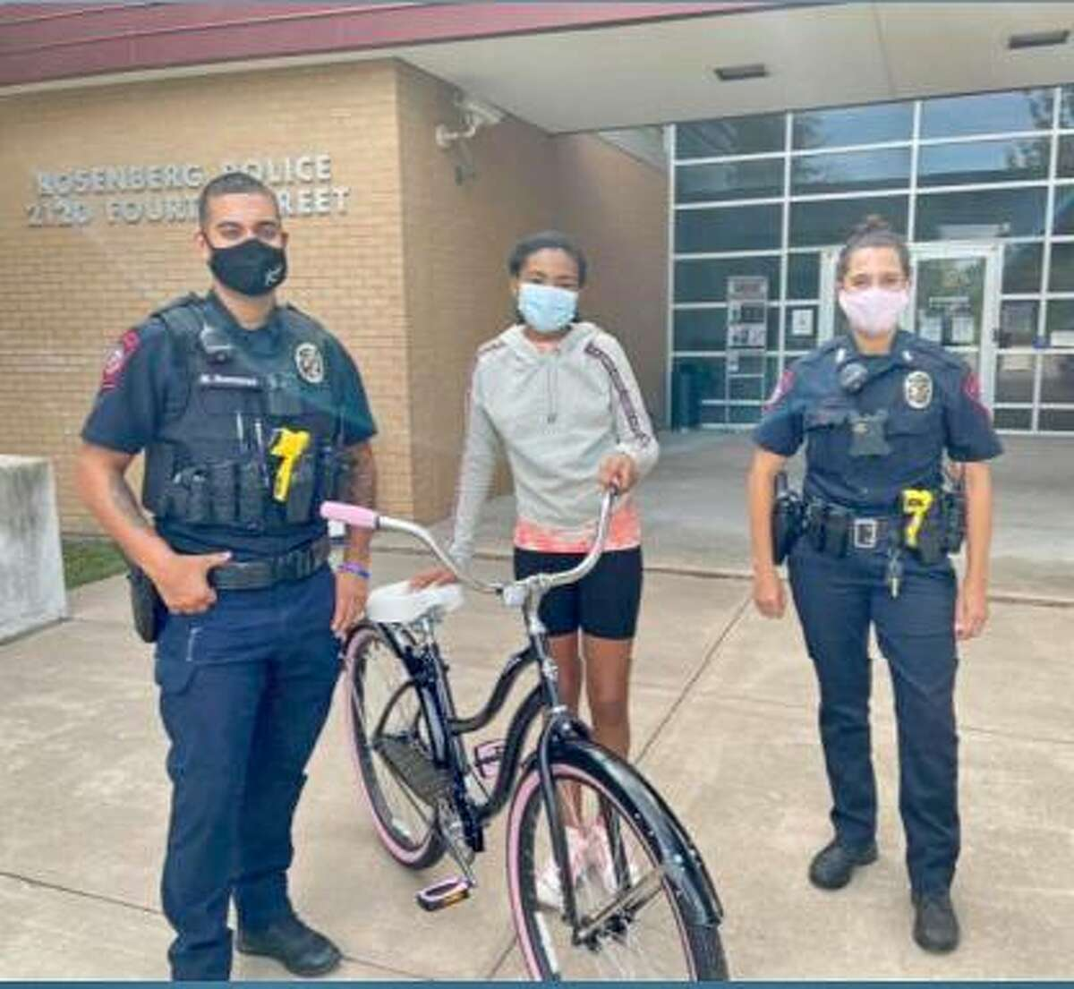 During September, the Rosenberg's Police Department's Community Relations Division officers held a recruitment event, met with area students to help with a school project, met with area pastors to talk about community engagement and donated a new bicycle for a contest event, officials said during an update to the Rosenberg City Council on Oct. 27.
