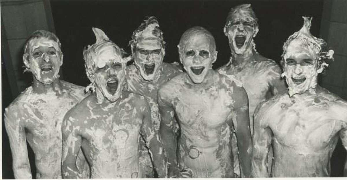 Baker 13 on a below-freezing night in April 1984,