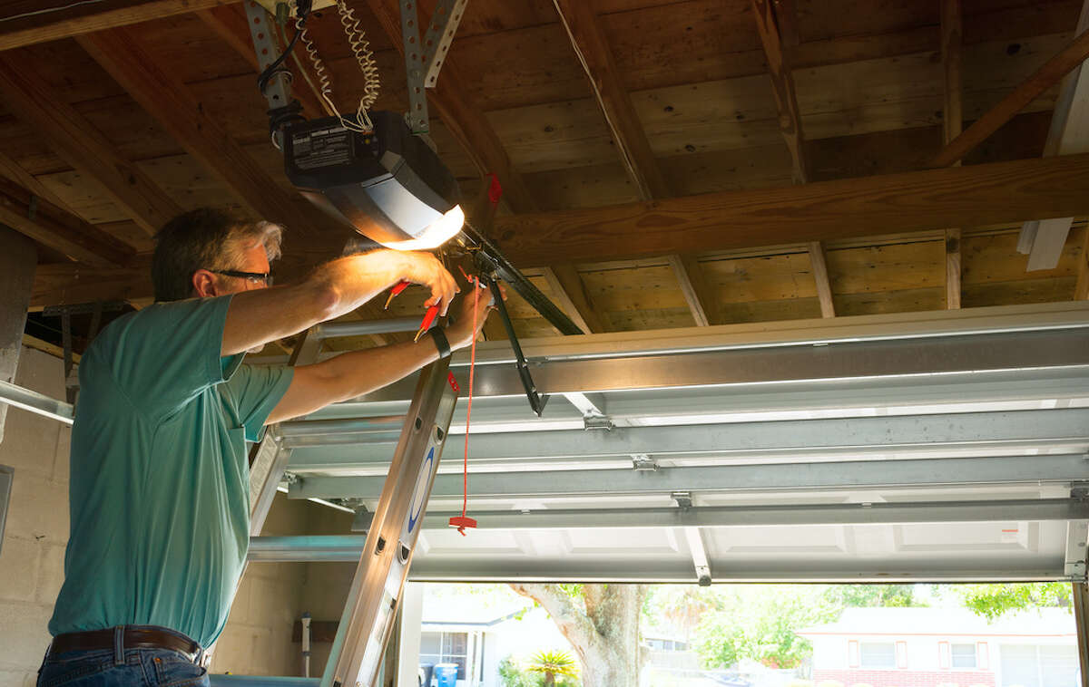 We've negotiated a great deal for a garage door spring repair that's exclusive for Chron readers.