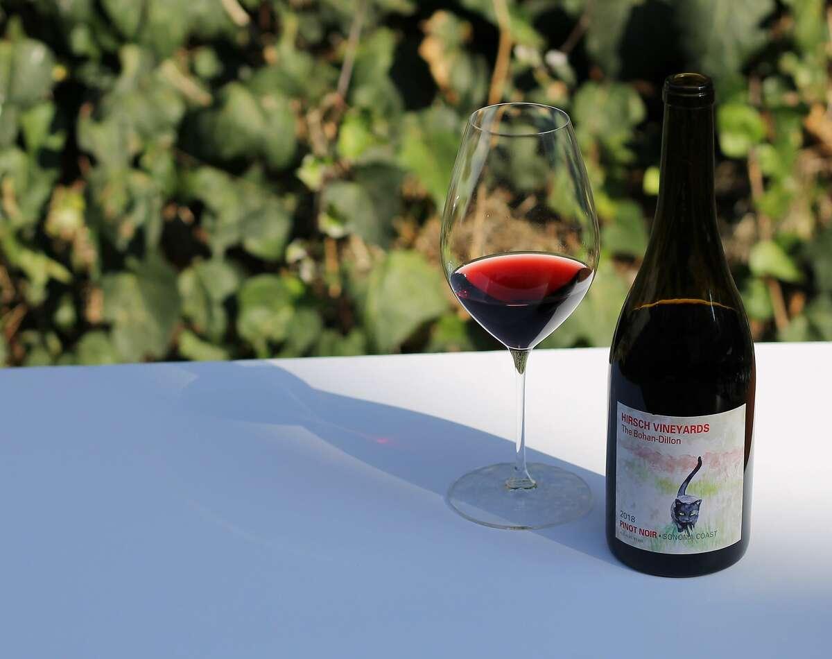 """Hirsch """"The Bohan Dillon"""" Sonoma Coast Pinot Noir ($38)"""