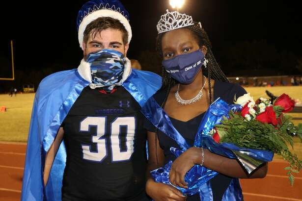 Homecoming King: Davis Seybert Homecoming Queen: Deborah Bajomo