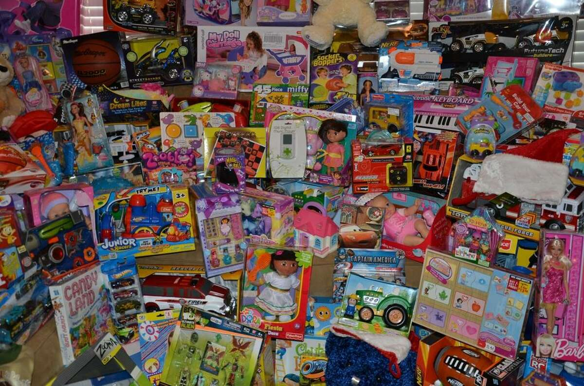 A previous Officer Santa program by the Pasadena Police Department fills a room with toys. Back for the 35th year, the program is once again collected toys and necessities for children who might not otherwise receive gifts this Christmas. Monetary donations can be sent to the Pasadena Police Department's Community Services Division (C/O Officer Santa), 1149 Ellsworth Drive, Pasadena, TX 77506, with checks made payable to the