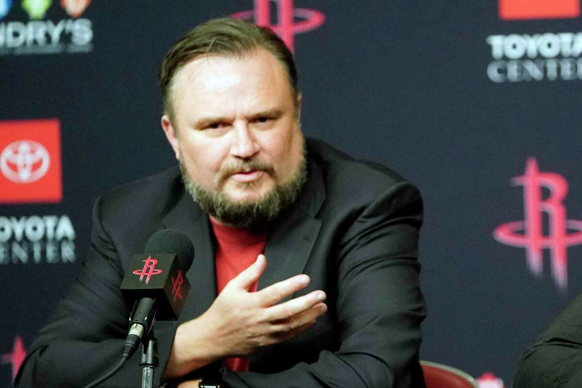 """Former Rockets general manager Daryl Morey emphasized the allure of Philadelphia to make him cut short his """"gap year."""""""