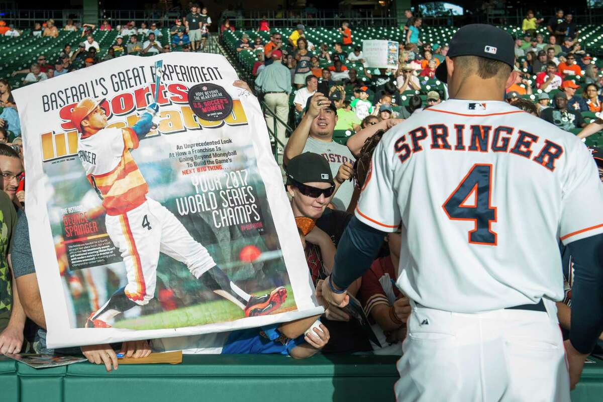 """Ben Reiter wrote the memorable 2014 Sports Illustrated cover story predicting the Astros would win the 2017 World Series. The author of """"Astroball"""" is addressing the team's sign-stealing scandal in a new podcast series that concludes with a two-part final episode, with the first installment coming Wednesday."""