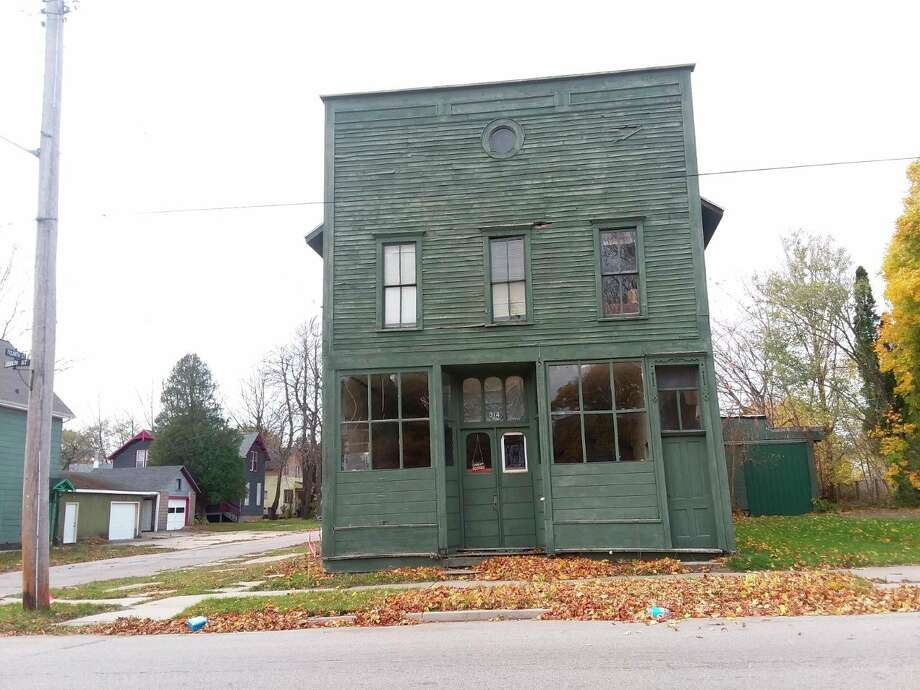 Property owner Stephen Glagola hopes to rehabilitate 314 Sibben St. and turn it into a space with three apartments, a community events space and a coffee shop and delicatessen. Manistee City Council will discuss aa tax exemption for a property during its meeting Wednesday.(Michelle Graves/News Advocate)