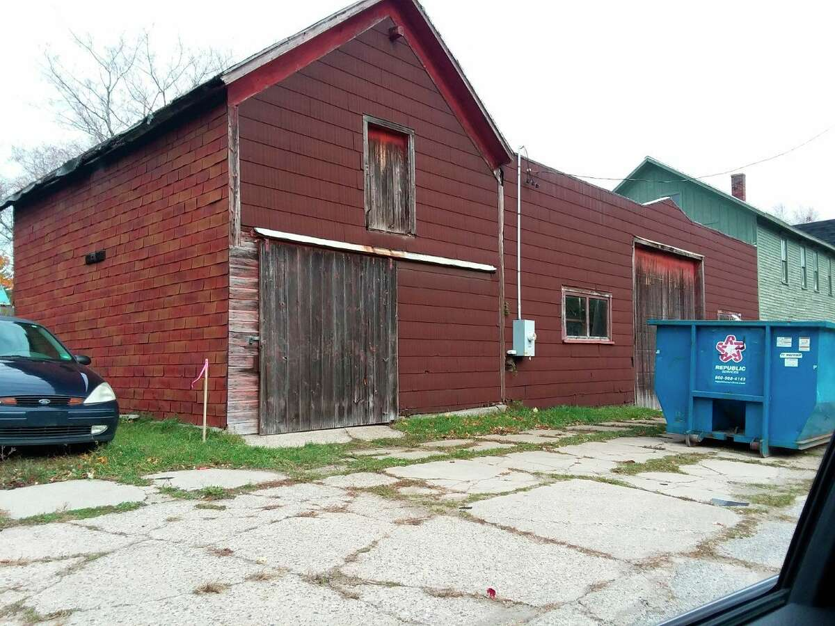 The property at 314 Sibben St. includes a rear warehouse building that owner Stephen Glagola hopes to make an activities center and exercise equipment room if space permits.Manistee City Council will discuss aa tax exemption for a property during its meeting Wednesday.(Michelle Graves/News Advocate)