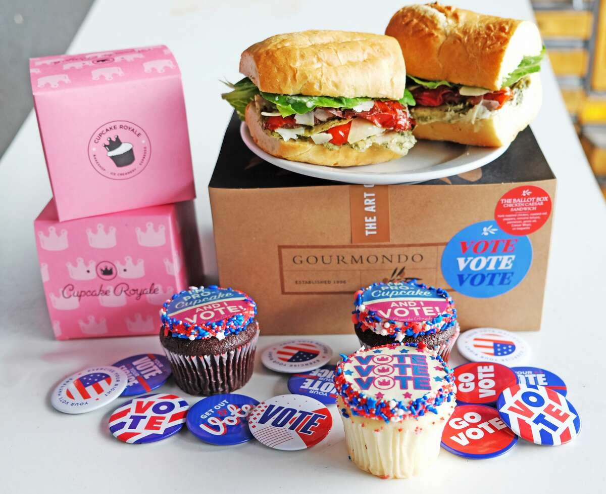 Gourmondo Co's latest boxed lunch, The Ballot Box, is available to order through Election Day. Uniting two of their top sellers - the roasted chicken panini and the Caesar salad- enjoy a chicken Caesar sandwich