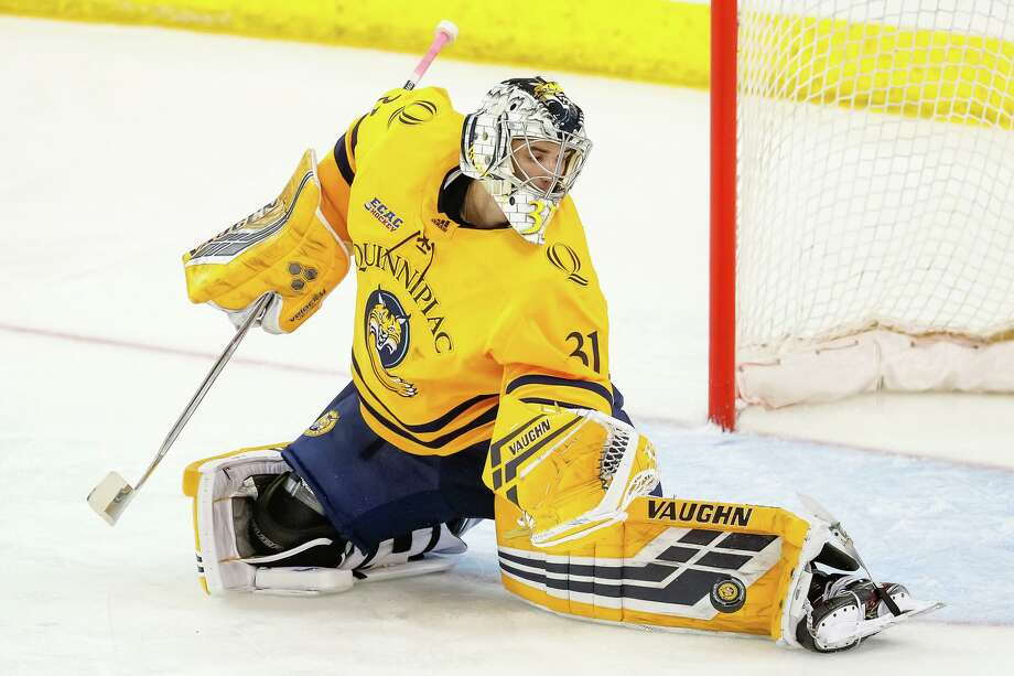 The Quinnipiac men's hockey team is ranked 14th in the USA Today/USA Hockey Magazine Division I poll. Photo: Quinnipiac Athletics / Contributed Photo / © Rob Rasmussen