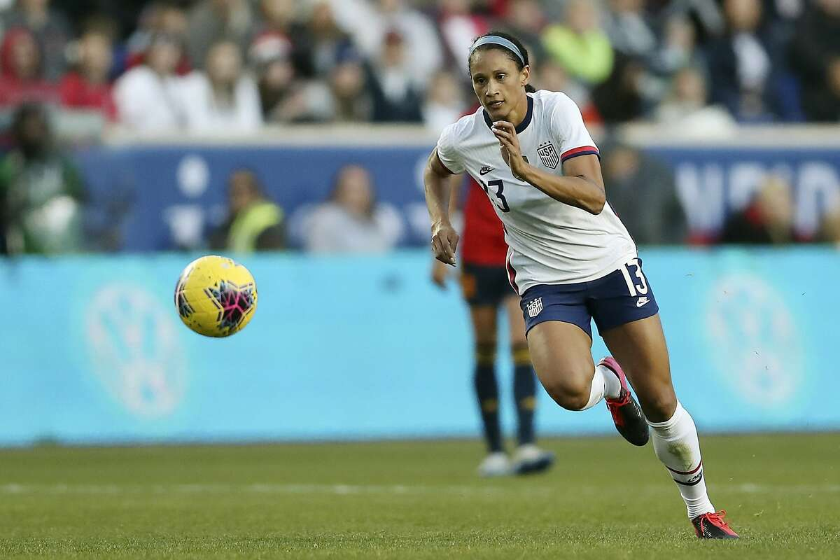 Lynn Williams hoped to earn a spot on the Olympic team this past summer. At least the delay gives her time to work on different aspects of her game.