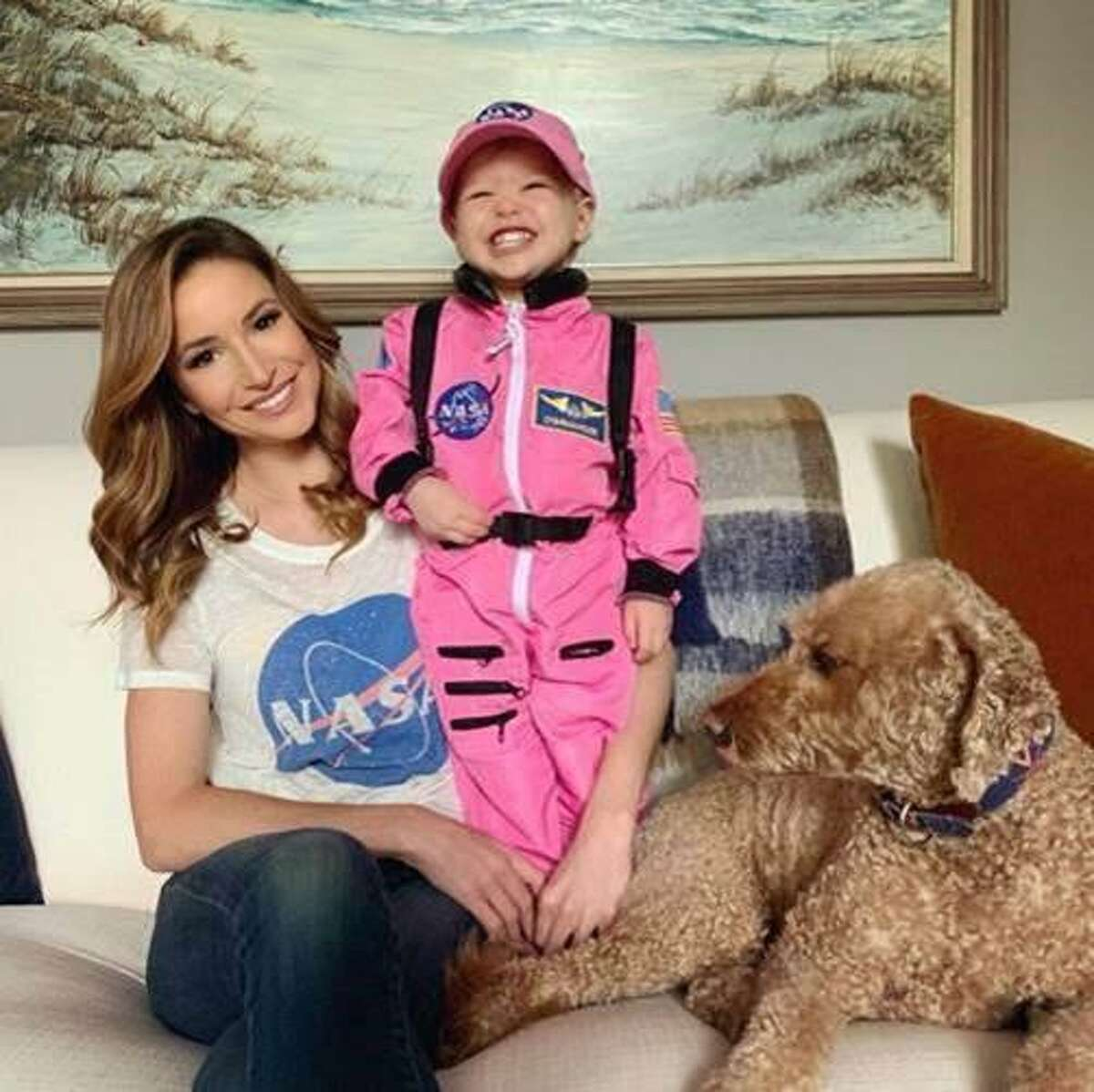 Fox News correspondent Kristin Fisher doesn't have much time for social media between mothering her daughter and covering the White House.