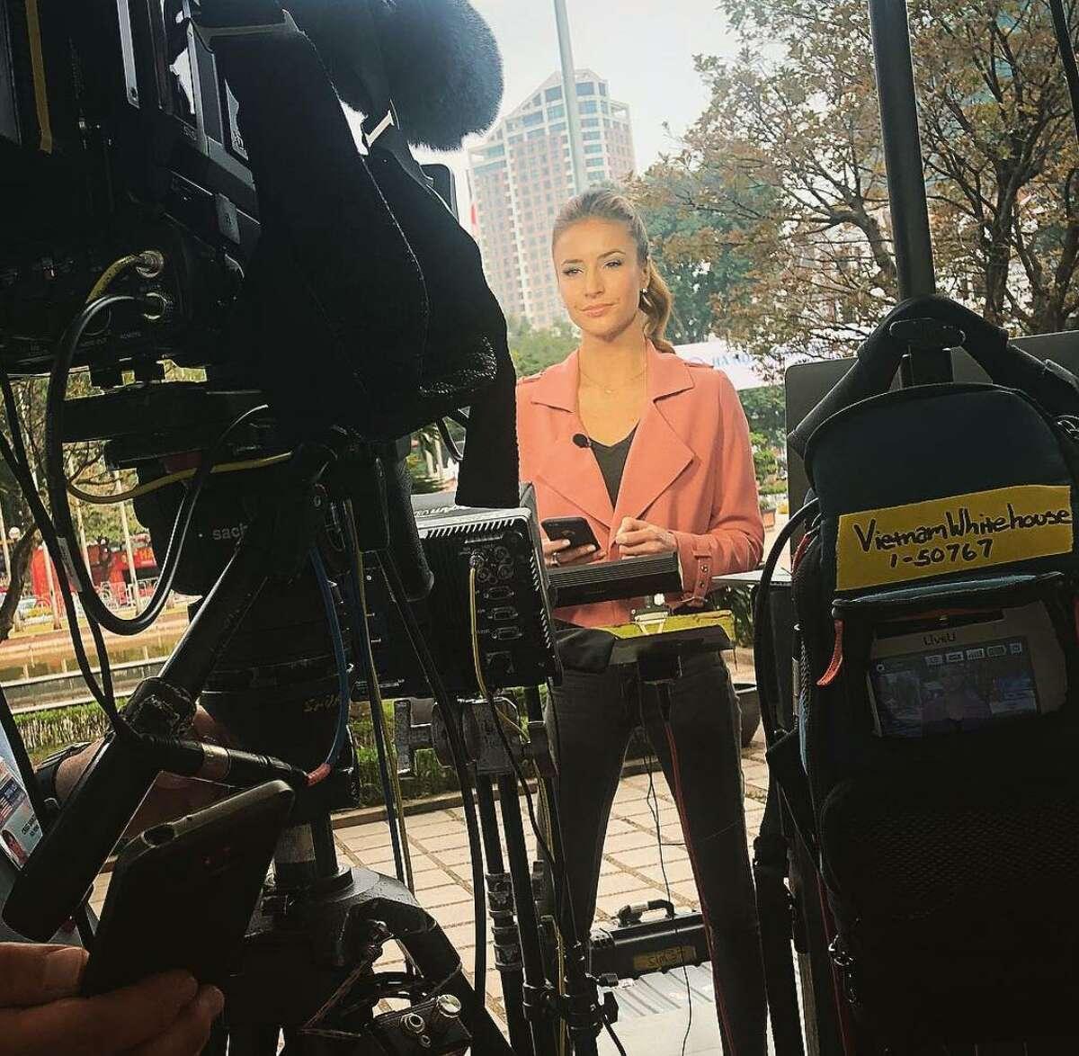 Fox News White House correspondent Kristin Fisher is from Houston.