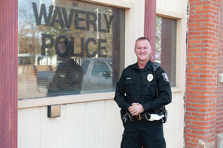 Chris Johnson is Waverly's new police chief. Johnson said he is excited to work with the community and his new staff, and he plans to have an open-door policy. Photo: Darren Iozia   Journal-Courier / Jacksonville Journal-Courier