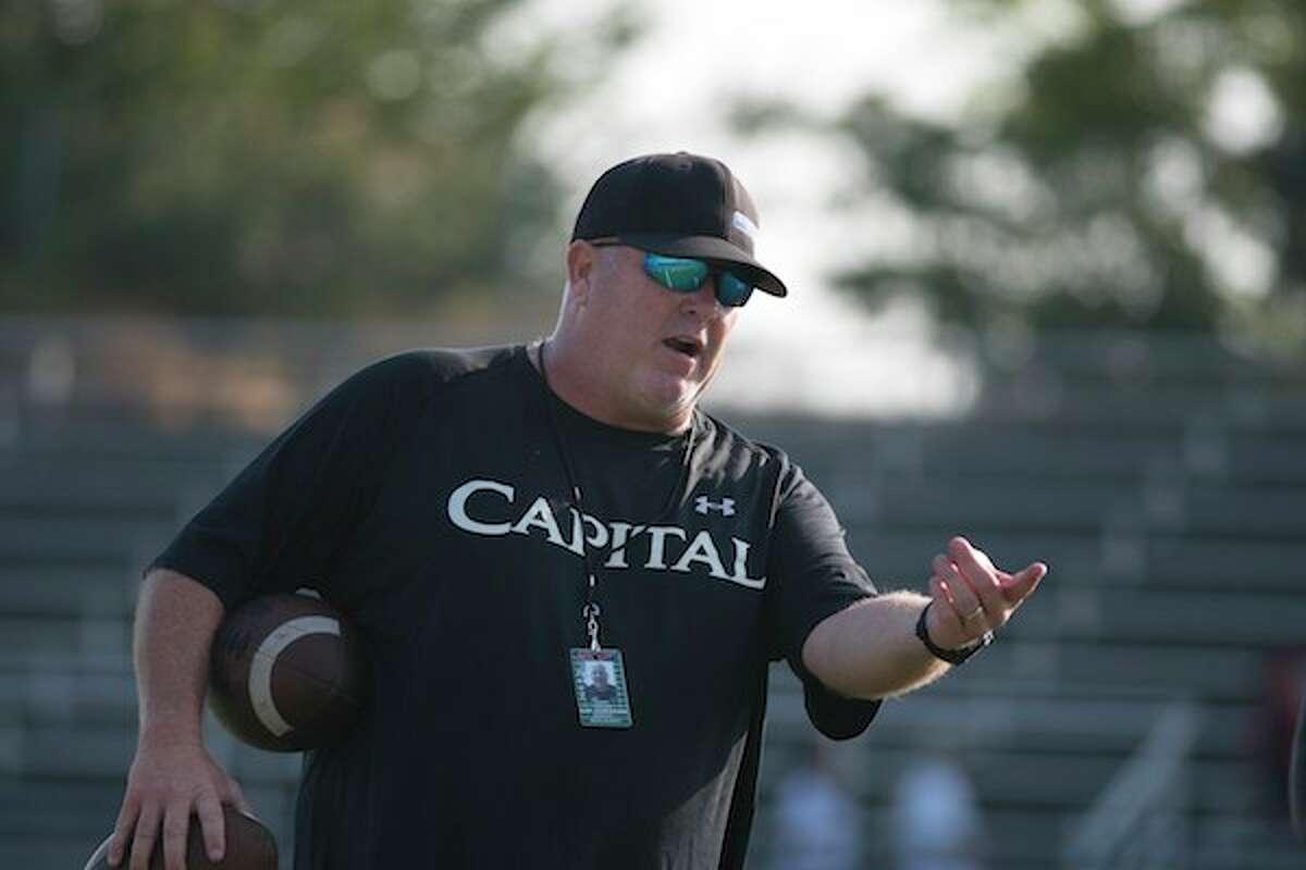 Casey Taylor, Capital Christian, Football