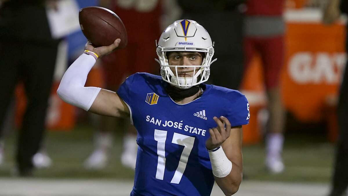 San Jose State quarterback Nick Starkel was named Mountain West bOffensive Player of the Week.