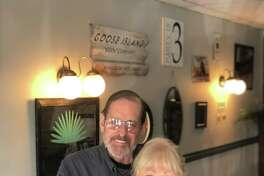 S.J. Barrington's on Route 7 in New Milford recently reopened for business, after having been closed for some time due to the coronavirus pandemic. During its temporary closure, it completed renovations. Above are co-owners James Wright and Susan Daigle.