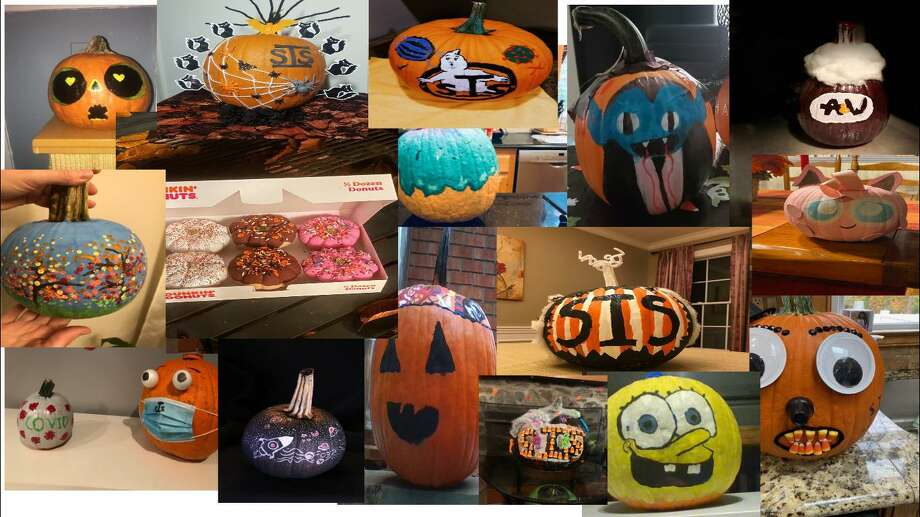 Shelton Intermediate School students showed off their artistic talents in the 2020 SIS Virtual Pumpkin Decorating Contest. Photo: Shelton Intermediate School / Contributed Photos / Connecticut Post