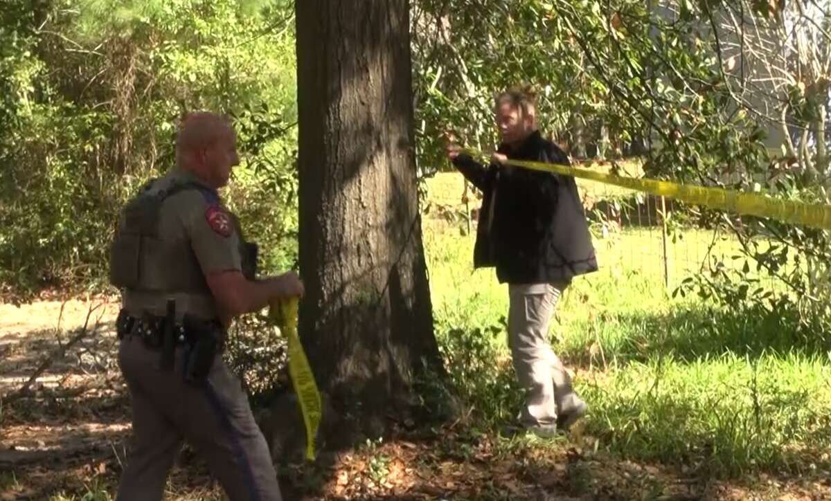 An hours-long hostage situation that followed the shooting of a woman in New Waverly ended peacefully Monday evening when the alleged gunman released four captives from a home and surrendered, according to the Montgomery County Sheriff's Office.