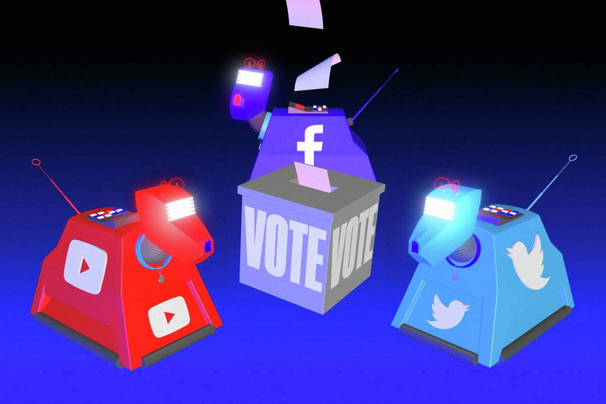 Facebook, Twitter and YouTube are key conduits for communication and information and they face challenges on and after Election Day.