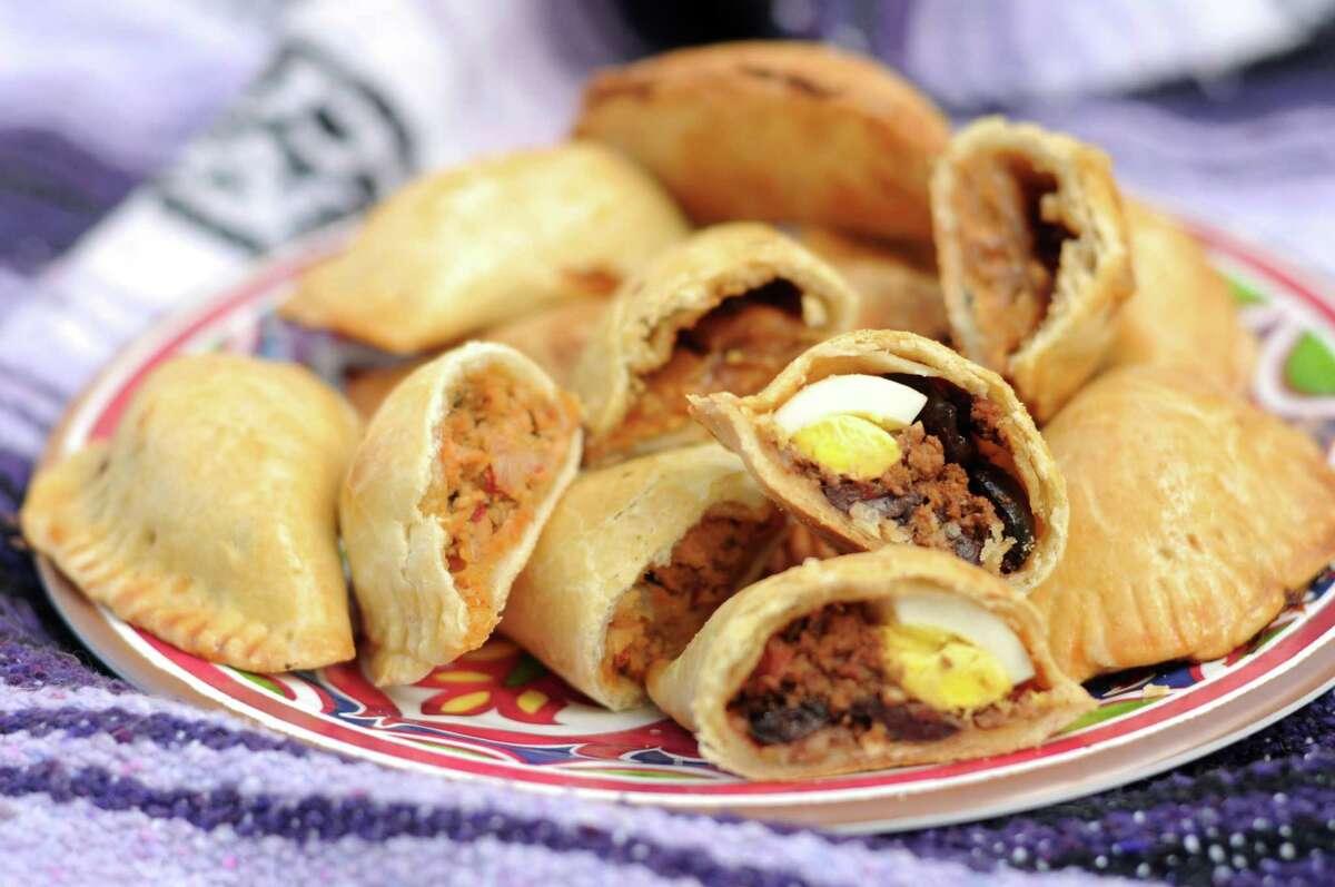 Beef, Egg and Olive Empanadas