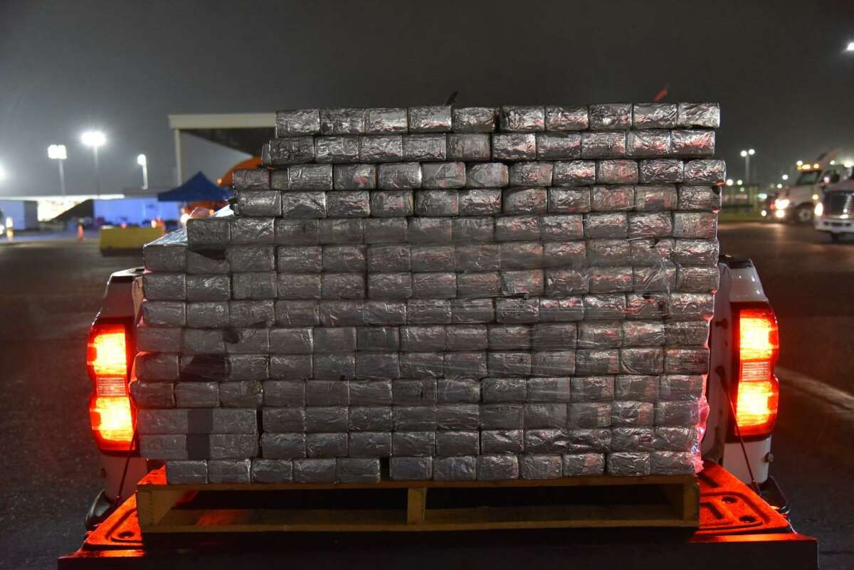 U.S. Customs and Border Protection officers seized these 1,988.12 pounds of methamphetamine with an estimated street value of $39,762,165. The seizure took place Oct. 27 at the Colombia Solidarity International Bridge.