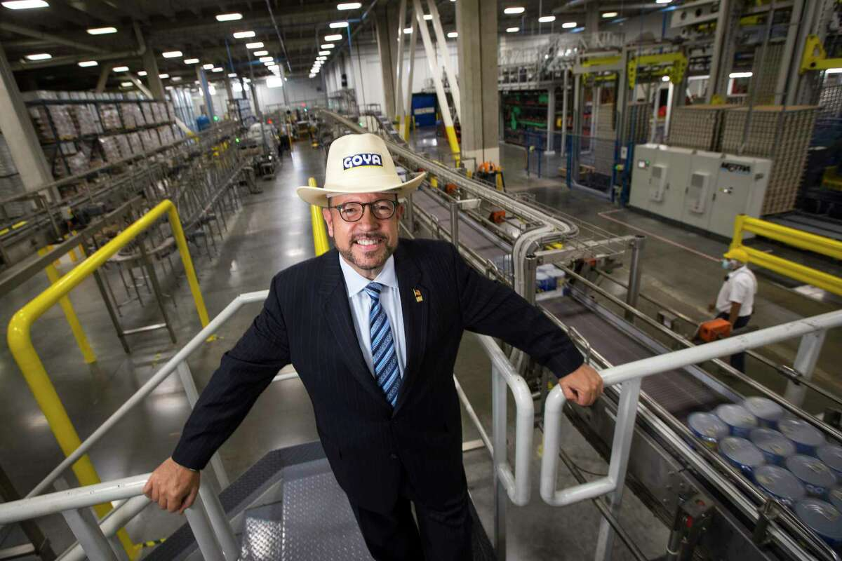 Robert Unanue, president and CEO of Goya Foods, says the company's facility in Brookshire