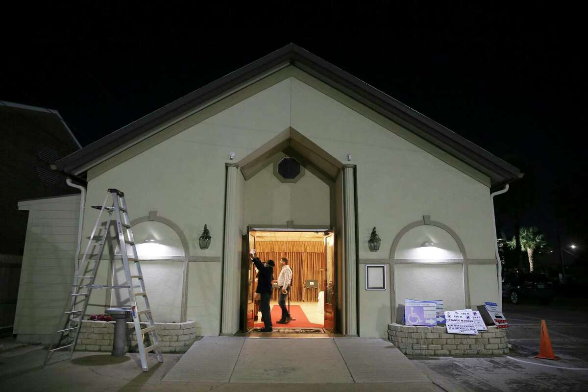 Winford Funerals was one of the funeral homes used in Harris County as a polling location.