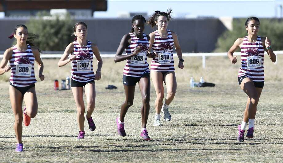 The Texas A&M International women's cross country qualified for the inaugural Division II National Invitational Meet. Photo: Courtesy Of TAMIU Athletics