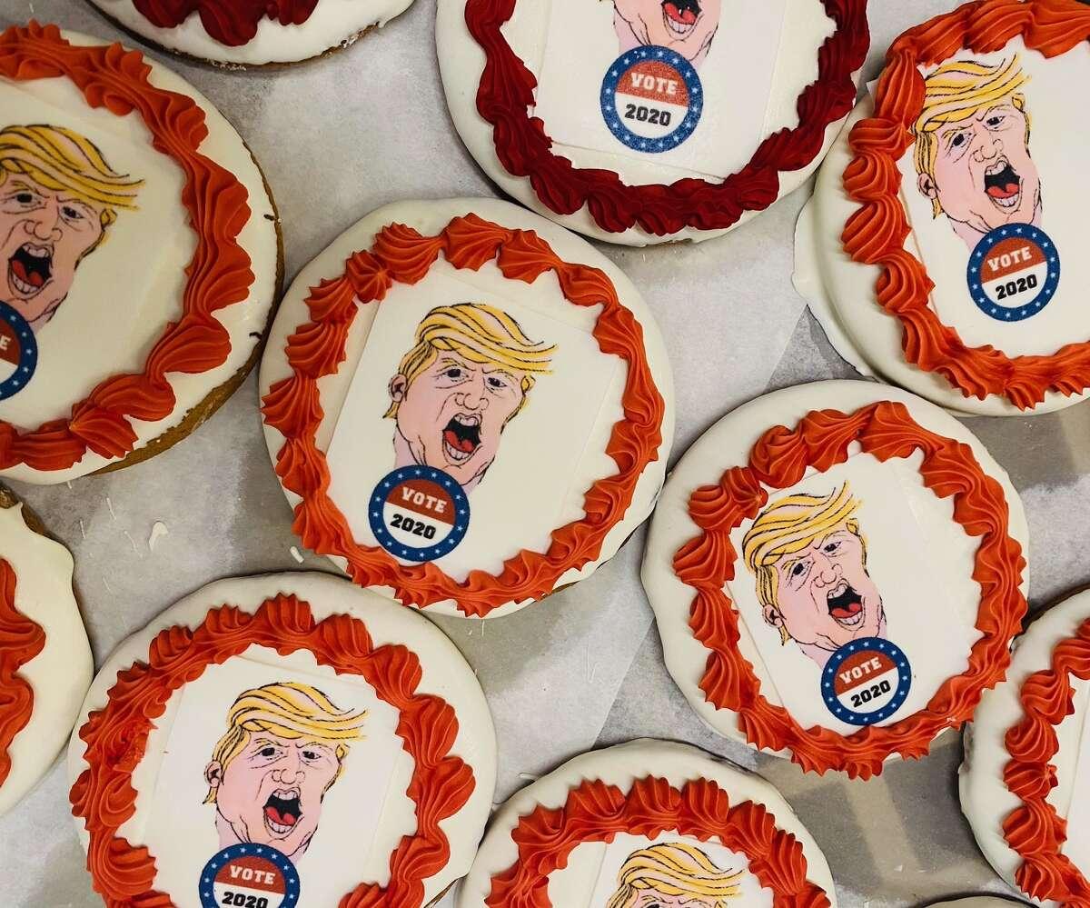 Three Brothers Bakery's Trump cookie.
