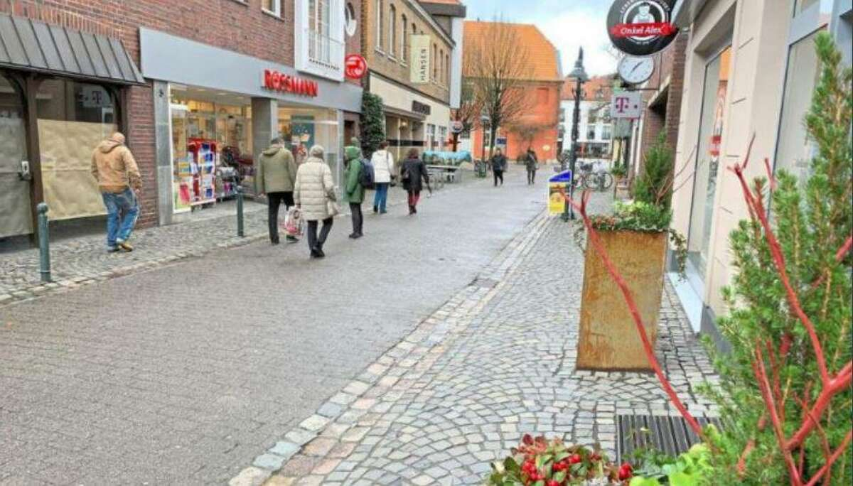 Streets in Telgte, Germany. The City of Tomball is looking at redesigning alleyways in Old Town to look similar to these.