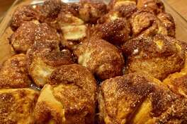 Indulge your sweet tooth at breakfast or as a snack with with monkey bread.