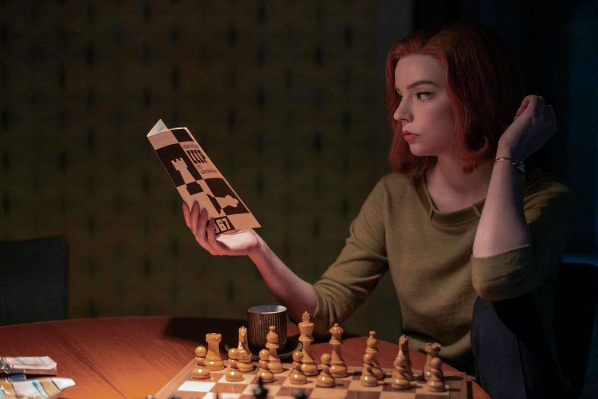 """""""The Queen's Gambit"""" is a limited series available on Netflix. The series follows the progress of a young chess champion during the 1960's."""