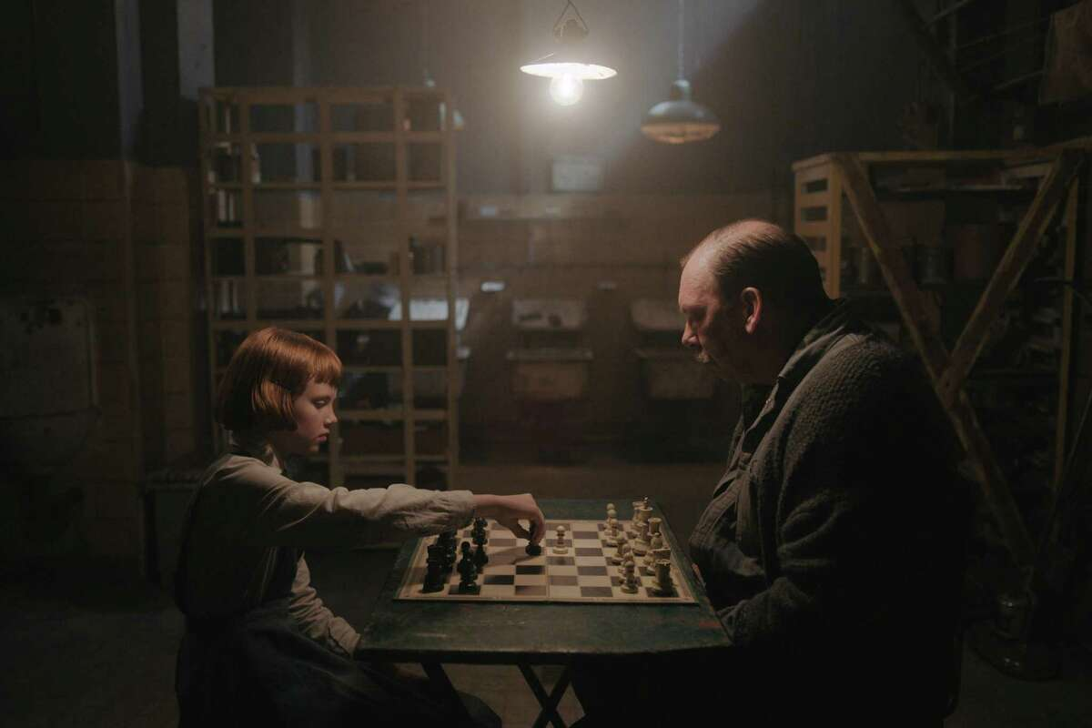"""""""The Queen's Gambit"""" is a limited series available on Netflix. The series follows the progress of a young chess champion during the 1960s."""