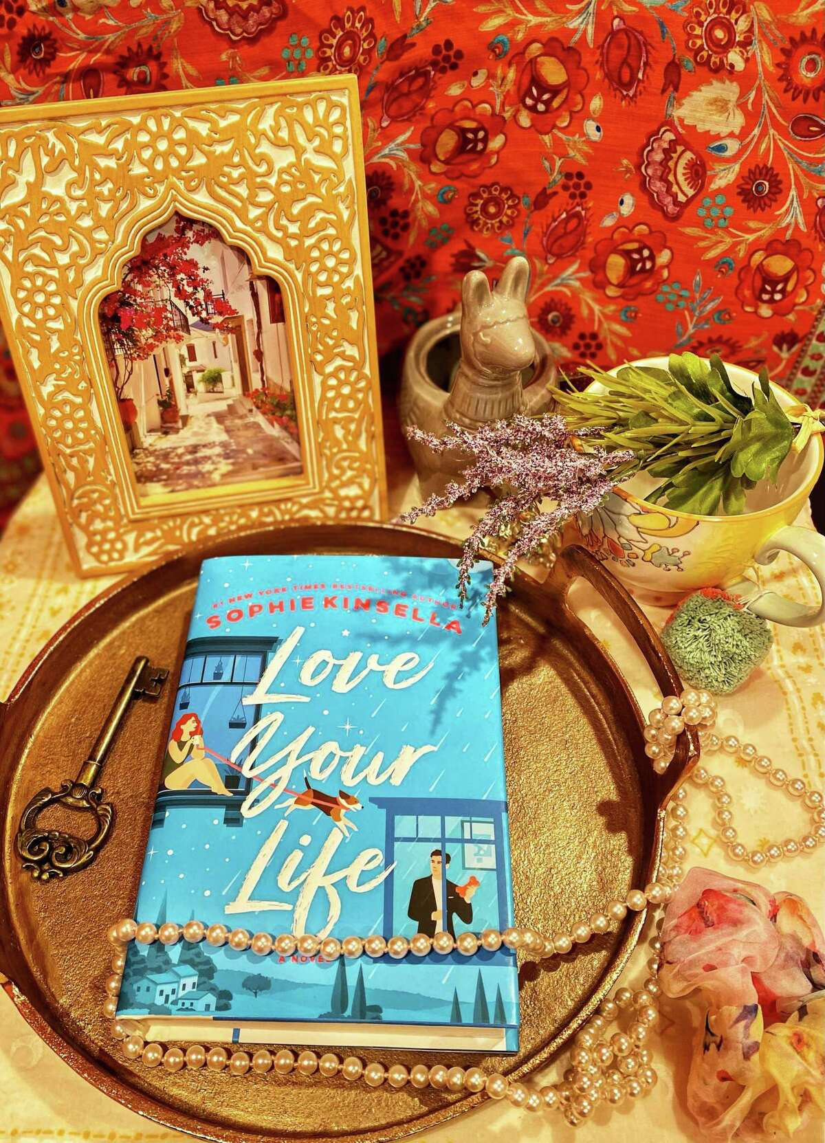 """""""Love Your Life"""" is the latest standalone novel by """"Confessions of a Shopaholic"""" author Sophie Kinsella."""