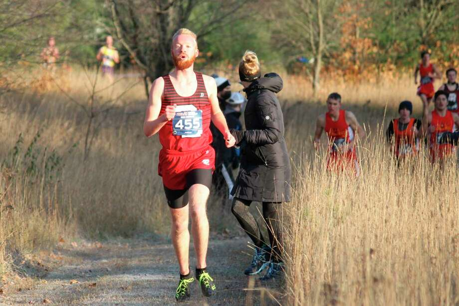 Bear Lake senior Hunter Bentley will make his fourth appearance in the Division 4 cross country state finals on Saturday at Michigan International Speedway. (News Advocate file photo)