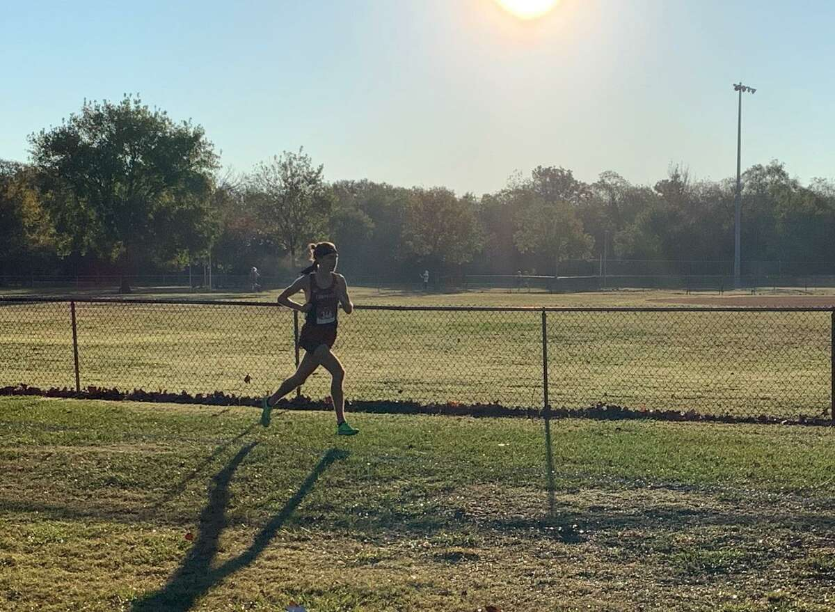 Tompkins' Gavin Saacke won the District 19-6A championship with a five-kilometer time of 15:16.3, Oct. 30 at Bear Creek Park.