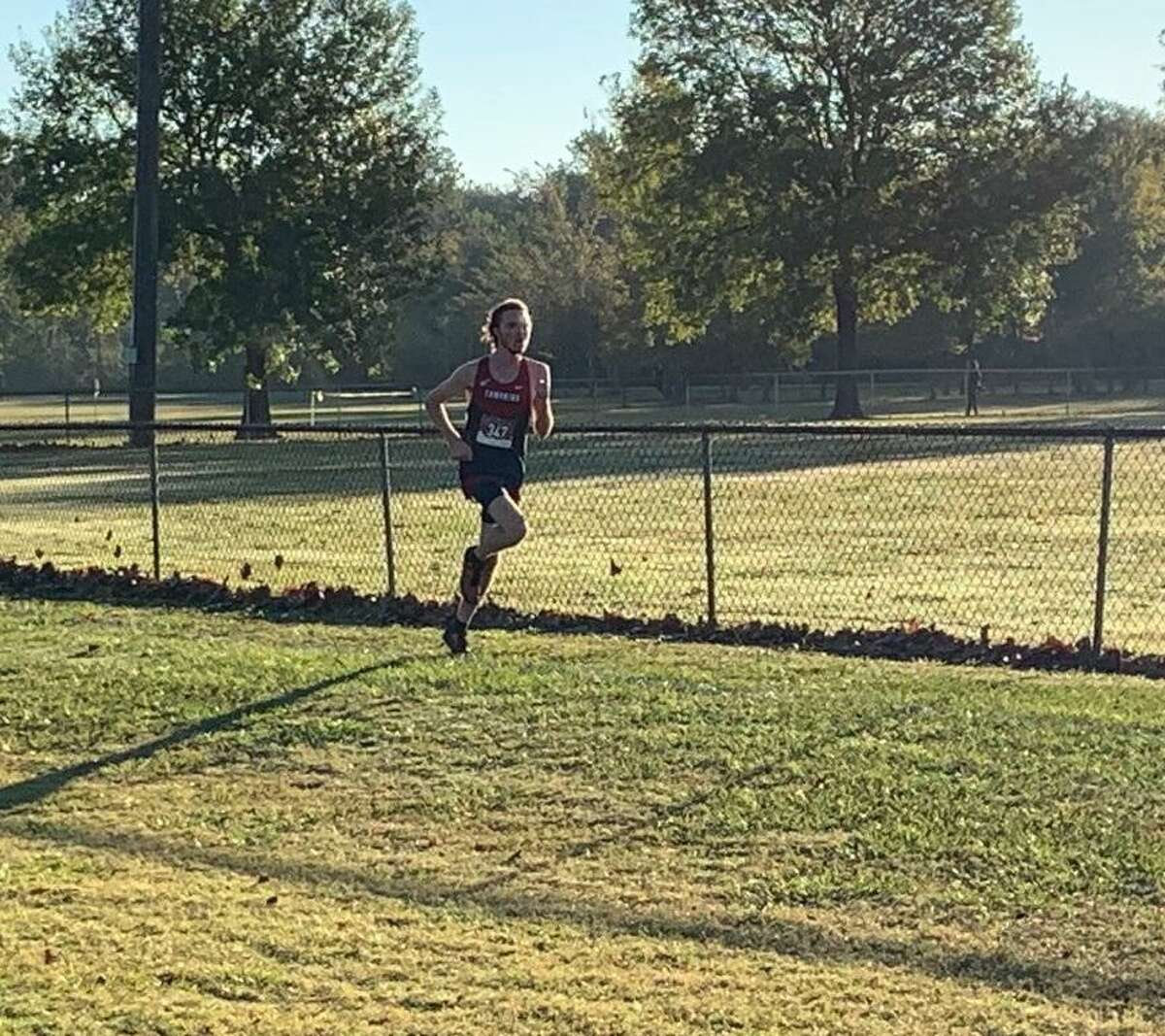 Tompkins' Ben Smith was the District 19-6A runner-up with a five-kilometer time of 15:38.0, Oct. 30 at Bear Creek Park.
